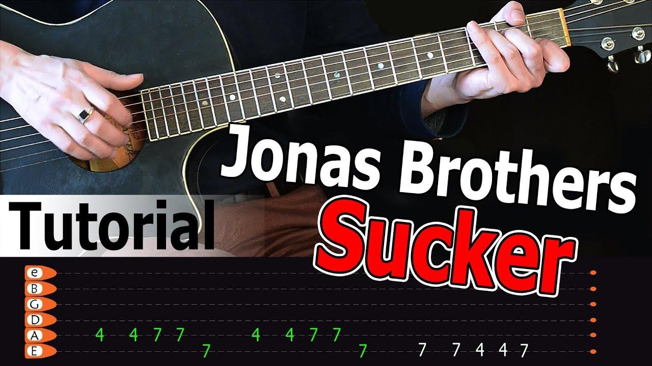 Jonas Brothers - Sucker Easy Guitar Tutorial