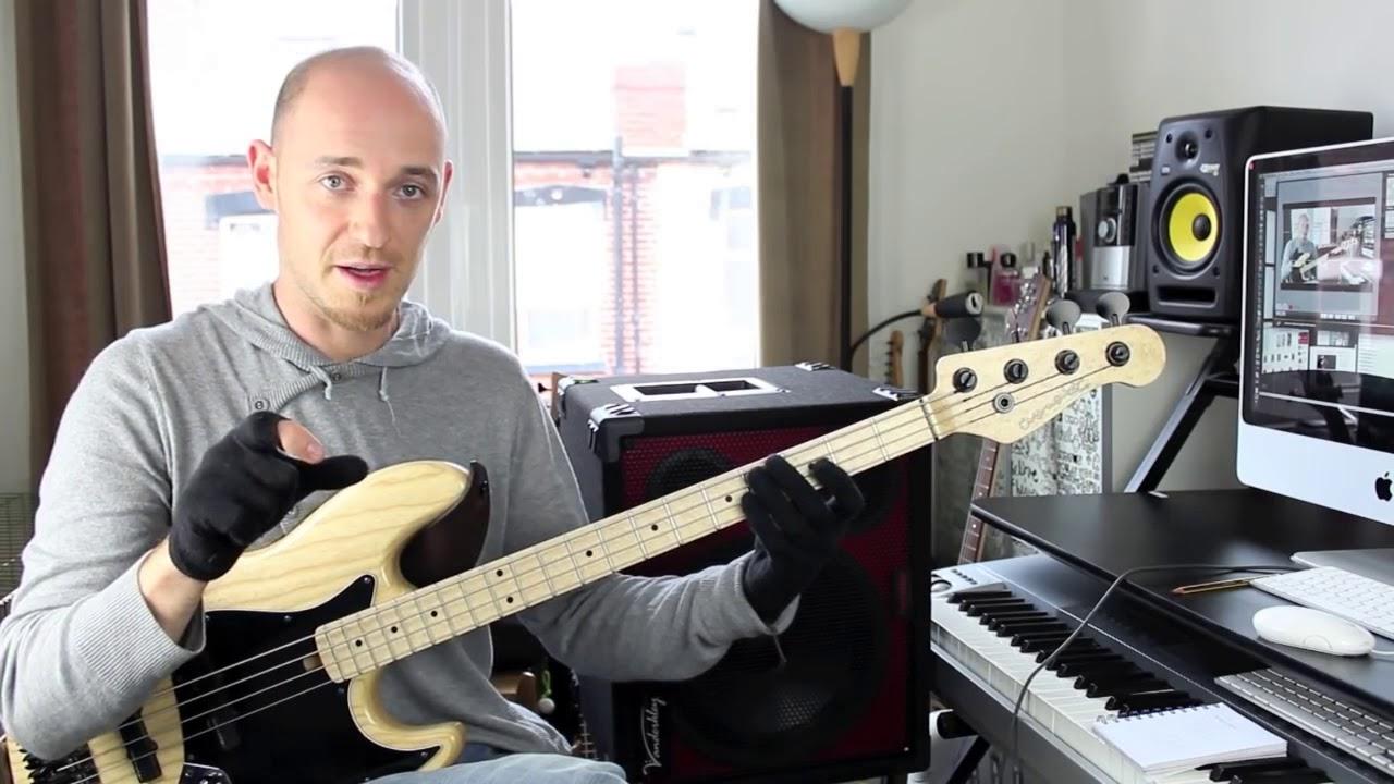 Как играть быстро, но четко - часть 1 (урок бас гитара)