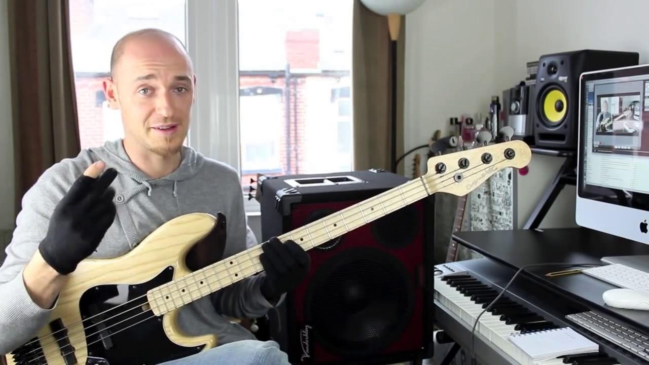 Как играть быстро, но чётко - часть 2 (урок бас гитара)