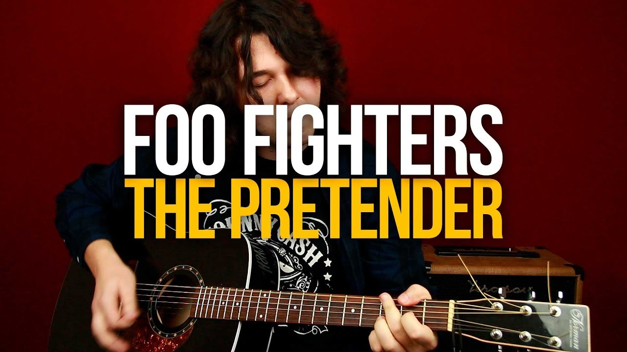 Как играть Foo Fighters The Pretender на гитаре разбор с табами
