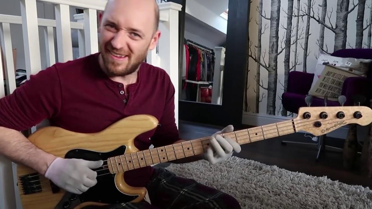 Как играть крутые заполнения в стиле госпел (урок бас гитара)