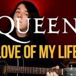 Как играть Queen Love Of My Life на гитаре подробный разбор с табами