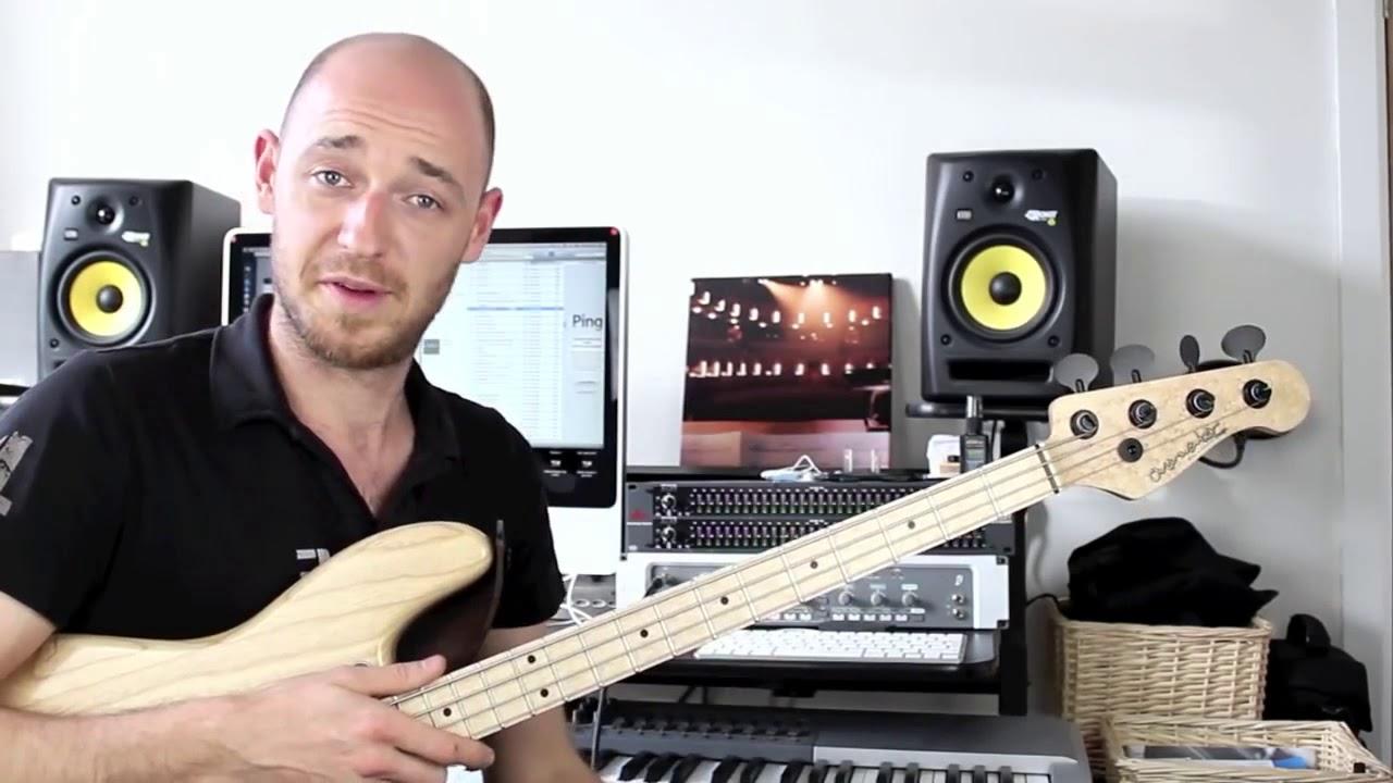 Как построить хорошую басовую партию - часть 2 (урок бас гитара)