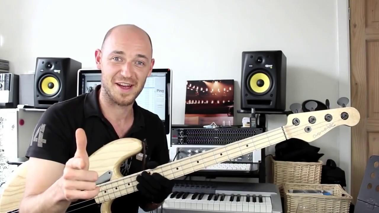 Как построить хорошую басовую партию - часть 1 (урок бас гитара)