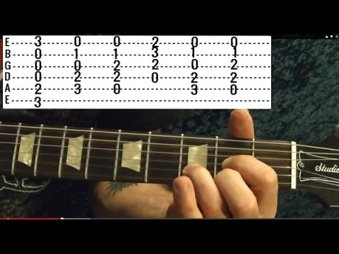 Knockin On Heaven's Door GUNS N' ROSES - Guitar Lesson Beginner