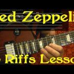 LED ZEPPELIN 15 Best Riffs Guitar Lesson