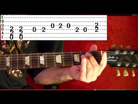 LED ZEPPELIN - Guitar Lesson - Immigrant Song