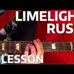 Limelight RUSH Guitar Lesson