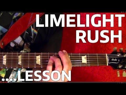 Limelight RUSH Guitar Lesson