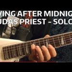 Living After Midnight Solo — JUDAS PRIEST — Guitar Lesson — EASY