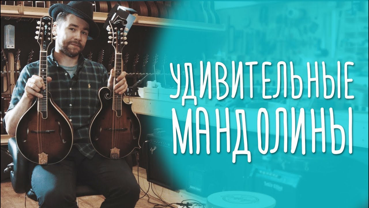 Мандолины Sigma Guitars (By C.F. Martin & Co, 1970). Александр Дмитриенко из Red Brick Boys, Москва