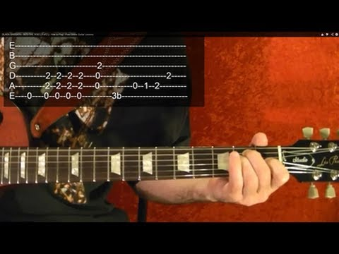 MASTER OF PUPPETS by Metallica - Guitar Lesson - 3 of 9