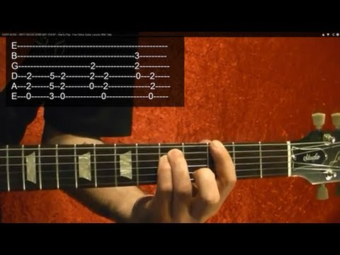 MASTER OF PUPPETS by Metallica - Guitar Lesson - 5 of 9