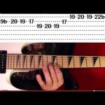 Master of Puppets Solo - METALLICA - Guitar Lesson