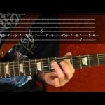 MASTER OF PUPPETS Solo by Metallica - Guitar Lesson - 6 of 9