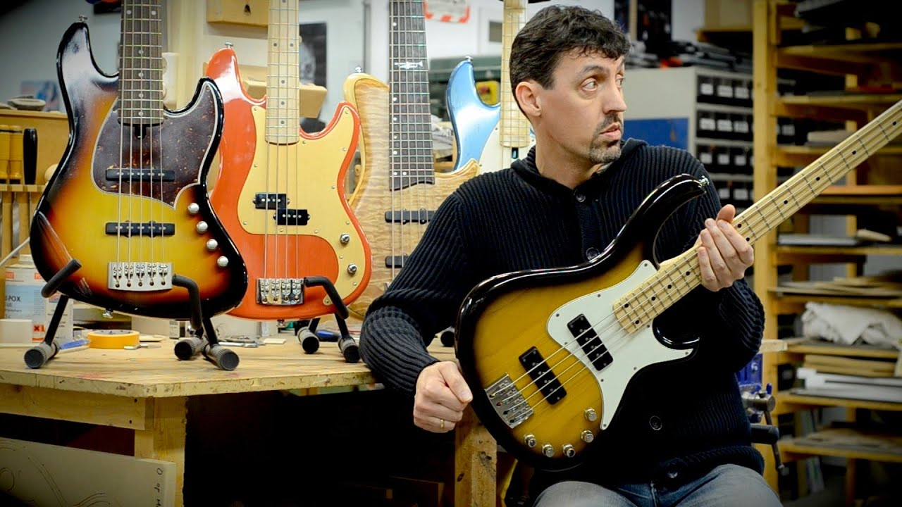 Meet The Luthier - DE GIER BASSES