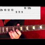 METALLICA Fade to Black — Solo ( 1 of 2 ) Guitar Lesson