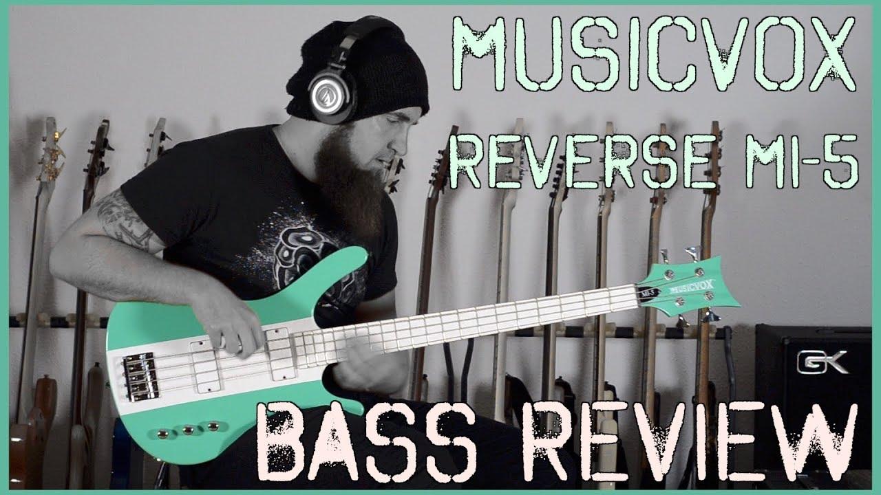 Musicvox Reverse MI-5 Surf Green