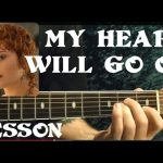MY HEART WILL GO ON ( TITANIC Theme ) Guitar Lesson — Beginners