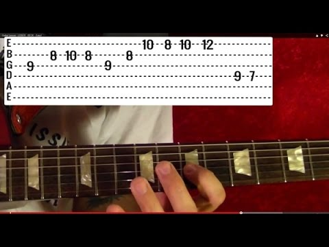 NOTHING ELSE MATTERS - Metallica (4 of 4) Guitar Lesson - Kirk Hammett - James Hetfield