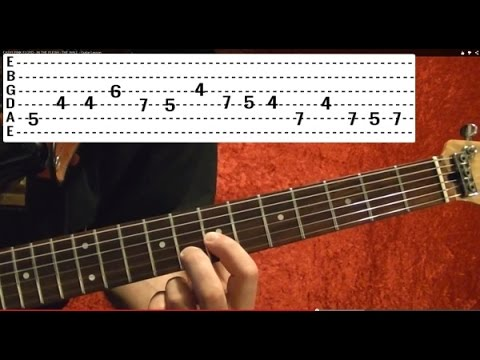NOTHING ELSE MATTERS - Metallica (1 of 4) Guitar Lesson - Kirk Hammett - James Hetfield