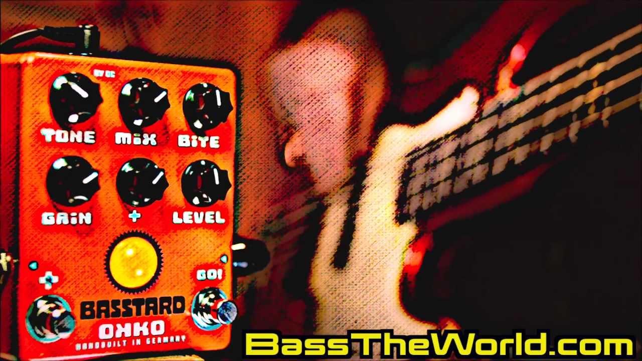 OKKO BASSTARD BASS OVERDRIVE DEMO BassTheWorld.com