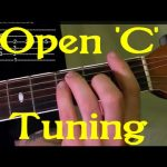 Open 'C' Tuning - Guitar Lesson