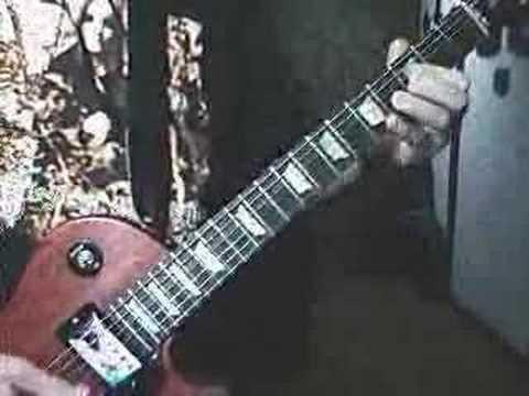 Original Electric Guitar Solo 'Into Thin Air'