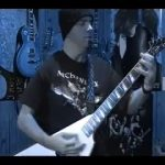 Original Heavy Metal Solo by BobbyCrispy ( Dark Shadows Falling ) VERY HEAVY