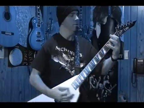 Original Heavy Metal Solo by BobbyCrispy ( Dark Shadows Falling ) VERY HEAVY