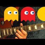 PAC MAN - Theme - Guitar Lesson