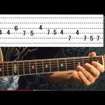 Patience Solo GUNS N' ROSES Guitar Lesson - EASY