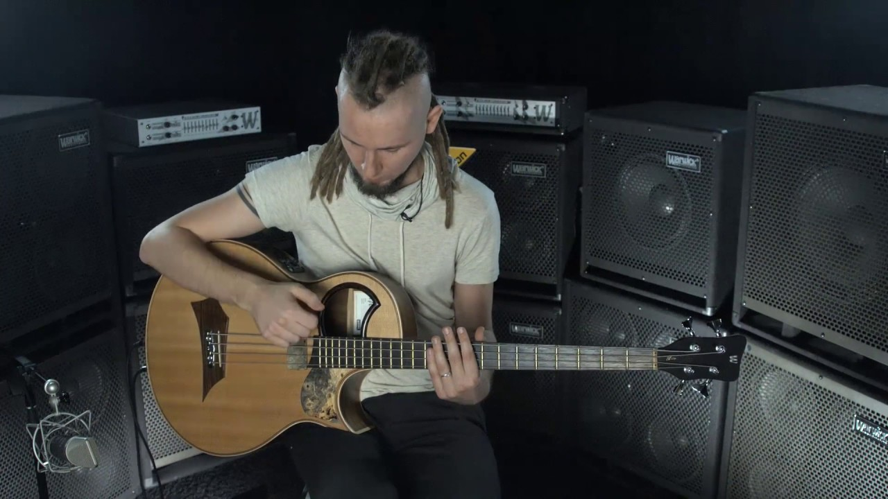 Percussive Acoustic Bass Lesson - Dmitry Lisenko