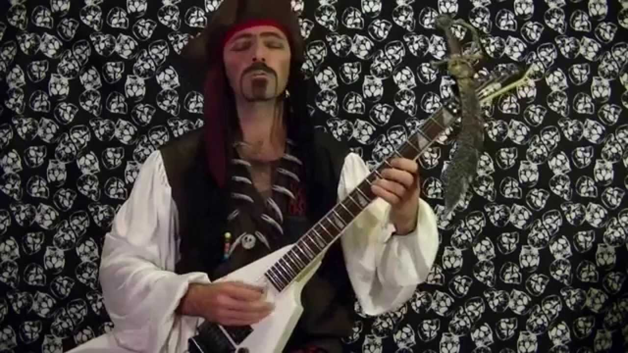 PIRATES OF THE CARIBBEAN - Guitar Solo