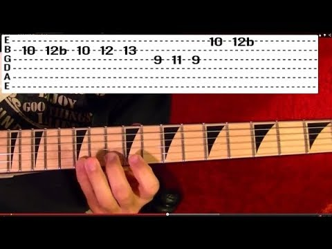 Pirates of the Caribbean Theme - Guitar Lesson