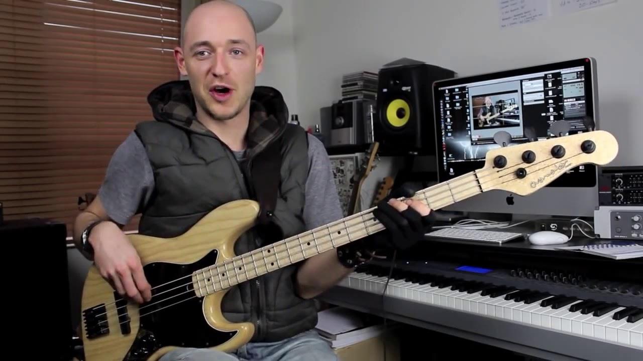 Правильная постановка правой и левой руки для бас гитары (урок бас гитара)