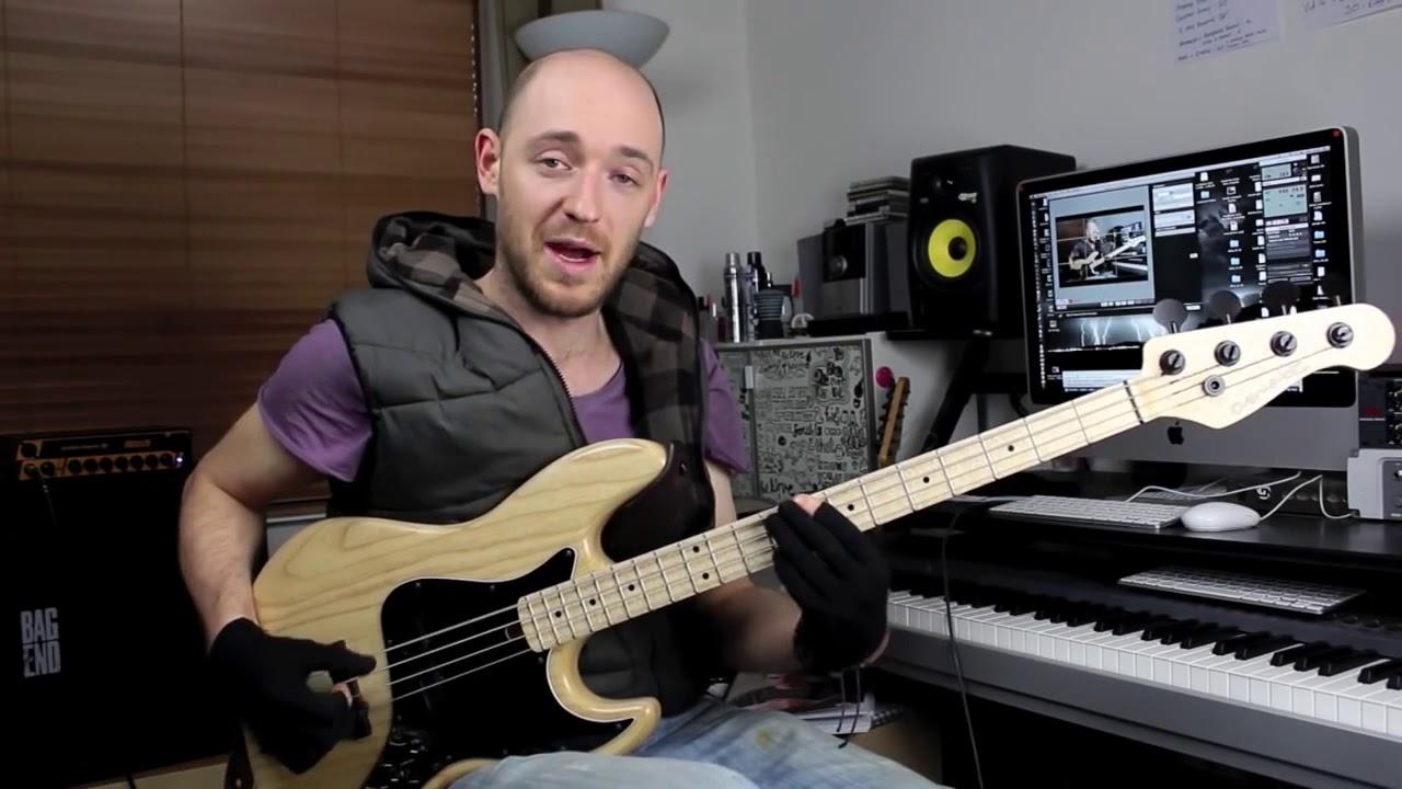Применение пентатоники на практике - часть 1 (урок бас гитара)