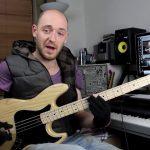 Применение пентатоники на практике — часть 1 (урок бас гитара)