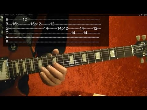 RAMBO FIRST BLOOD Theme ( 2 of 2 ) Guitar Lesson