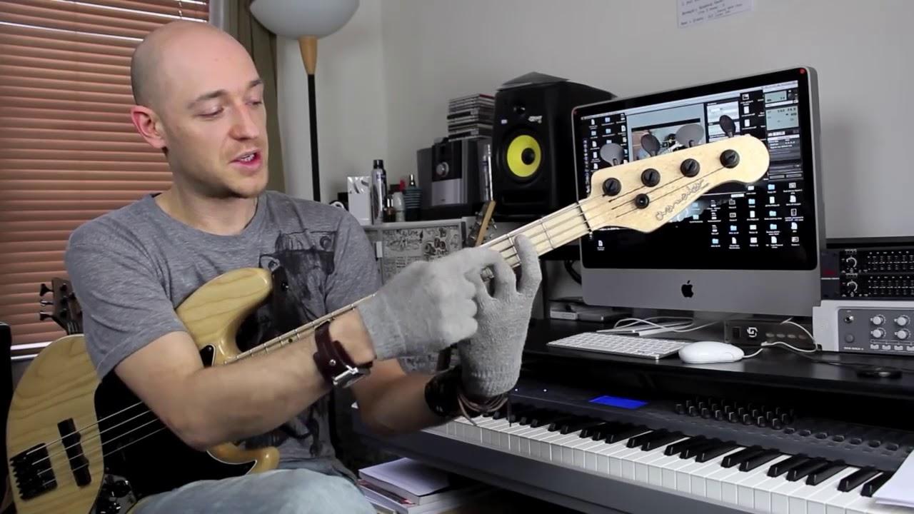 Разбираем мажорную гамму на бас гитаре