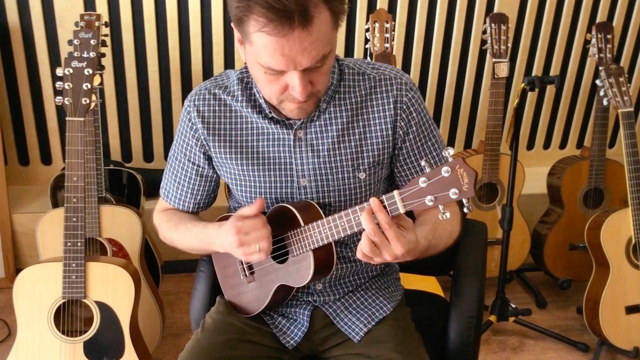 Разбор Как играть Mister Sandman на укулеле. www.gitaraclub.ru
