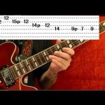 ROCK and BLUES SCALE - Easy Guitar Lesson - Beginners