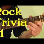 ROCK GUITAR TRIVIA 1 of 3 — Name All 15 Songs ( by BobbyCrispy )