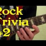 ROCK GUITAR TRIVIA 2 of 3 — Can You Guess All 15 Songs ( by BobbyCrispy )