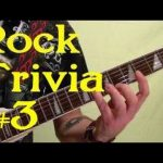 ROCK GUITAR TRIVIA 3 of 3 — Name All 15 Songs ( by BobbyCrispy )