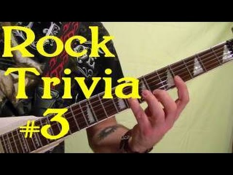 ROCK GUITAR TRIVIA 3 of 3 - Name All 15 Songs ( by BobbyCrispy )