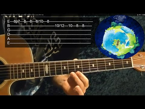 ROUNDABOUT Intro - YES - Guitar Lesson