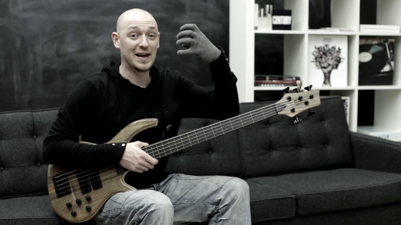 Секреты безладового баса (урок бас гитара)