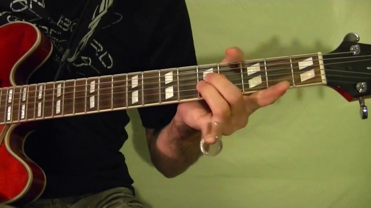 Slide Blues Guitar Lesson - Beginners
