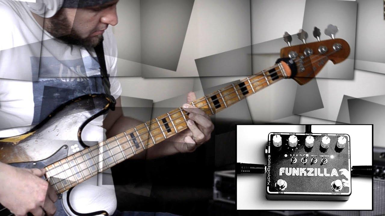 SolidGoldFX FUNKZILLA BASS DEMO BassTheWorld.com